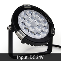9W RGB+CCT LED Garden Light-futlight,milight